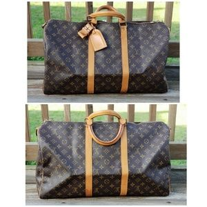 Louis Vuitton Authentic Bandouliere Keepall 50